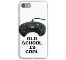Old School Is Cool - Mega Drive iPhone Case/Skin