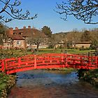 Red Bridge, Heale Gardens by RedHillDigital