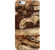 Jurassic under the microscope iPhone Case/Skin