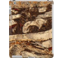 Jurassic under the microscope iPad Case/Skin