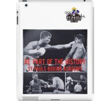 St. Paul's boxing academy history  iPad Case/Skin