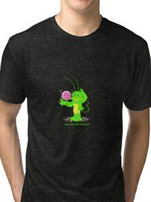 Sugar Bug 1 no logo  Tri-blend T-Shirt