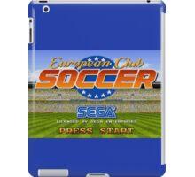European Club Soccer - Mega Drive iPad Case/Skin