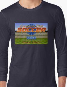 European Club Soccer - Mega Drive Long Sleeve T-Shirt