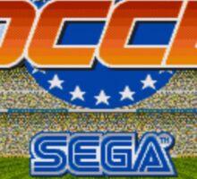 European Club Soccer - Mega Drive Sticker