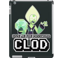 Peridot Wifi Password iPad Case/Skin