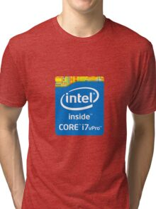 Intel Inside Tri-blend T-Shirt