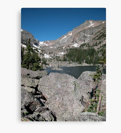 Emerald Lake Rocky Mountain National Park Canvas Print