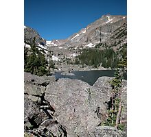 Emerald Lake Rocky Mountain National Park Photographic Print