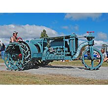 Sieve-Grip Tractor Photographic Print