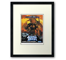 Altered Beast - Retro Mega Drive T-shirt Framed Print