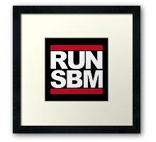 RUN SBM Framed Print