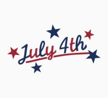 July 4th Independence Day Kids Tee