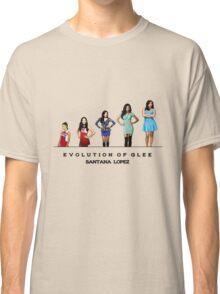 Evolution of Glee || Santana Lopez Classic T-Shirt