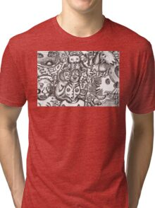 Escapees from the mind Tri-blend T-Shirt