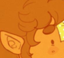 bilbo and the bumblebee Sticker