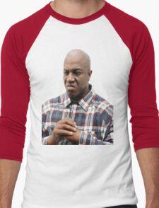 Fight Me (No background) Men's Baseball ¾ T-Shirt