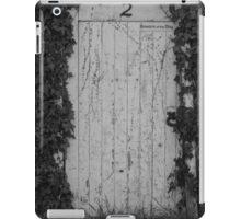 White gate (No. 2) iPad Case/Skin
