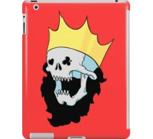 Royalty,  death to the king 2 iPad Case/Skin