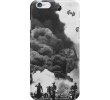 Vintage Imperial Ship Attack iPhone Case/Skin