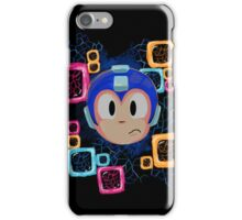 Jumpin' Gemini, Mega Man! iPhone Case/Skin