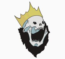Royalty,  death to the king Kids Tee