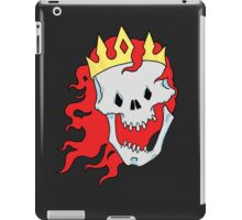 Royalty,  death to the queen iPad Case/Skin