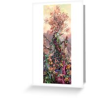 Phosphorus Tree Greeting Card