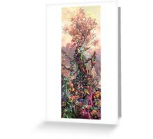 Phosphorus Tree Greeting Card
