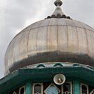 Mosque, Bukittingi, Sumatra by Naomi Brooks