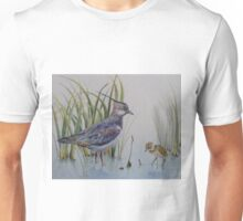 Lapwing and chick Unisex T-Shirt