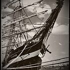 Vintage Sailboat by HumanNature911