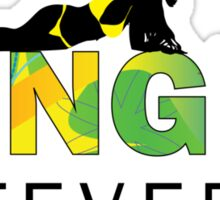 Jungle Fever Sticker