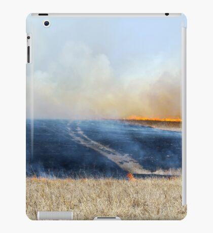 Road Through The Prairie Burn iPad Case/Skin