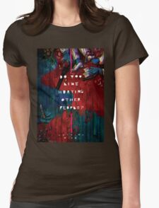 Hotline Miami Artwork Womens Fitted T-Shirt