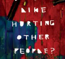Hotline Miami Artwork Sticker