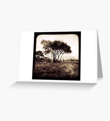 1852 Greeting Card