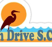 Ocean Drive - South Carolina.  Sticker