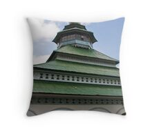 Mosque, Lake Maninjau Throw Pillow