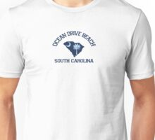 Ocean Drive - South Carolina.  Unisex T-Shirt