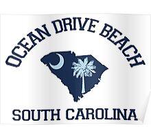 Ocean Drive - South Carolina.  Poster