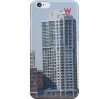 Shadow of W Hotel, Hoboken, New Jersey iPhone Case/Skin