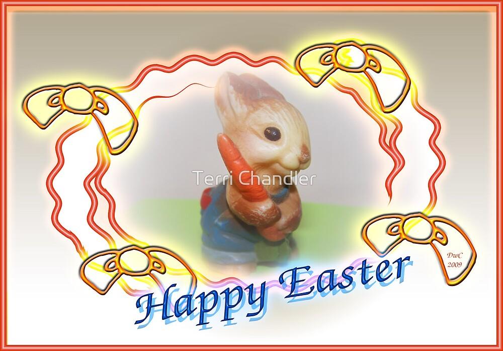 Happy Easter Bunny by Terri Chandler