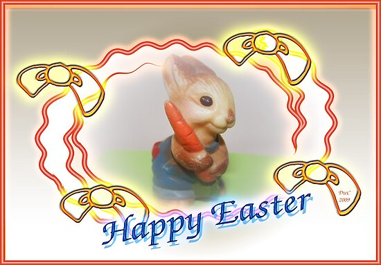 Happy Easter Bunny by Terri Chandler