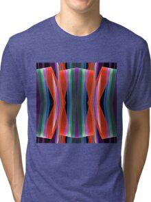 Colourful geometric abstract Tri-blend T-Shirt