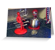 Kitchen Utensils Greeting Card