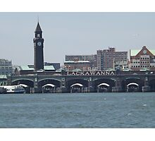 Classic Erie Lackawanna Ferry and Train Terminal, Hoboken, New Jersey Photographic Print