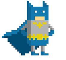 Pixel batman by Émil Lauzon