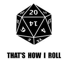 20 Sided Dice Roll by AmazingMart