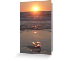 Broome Sunset Greeting Card
